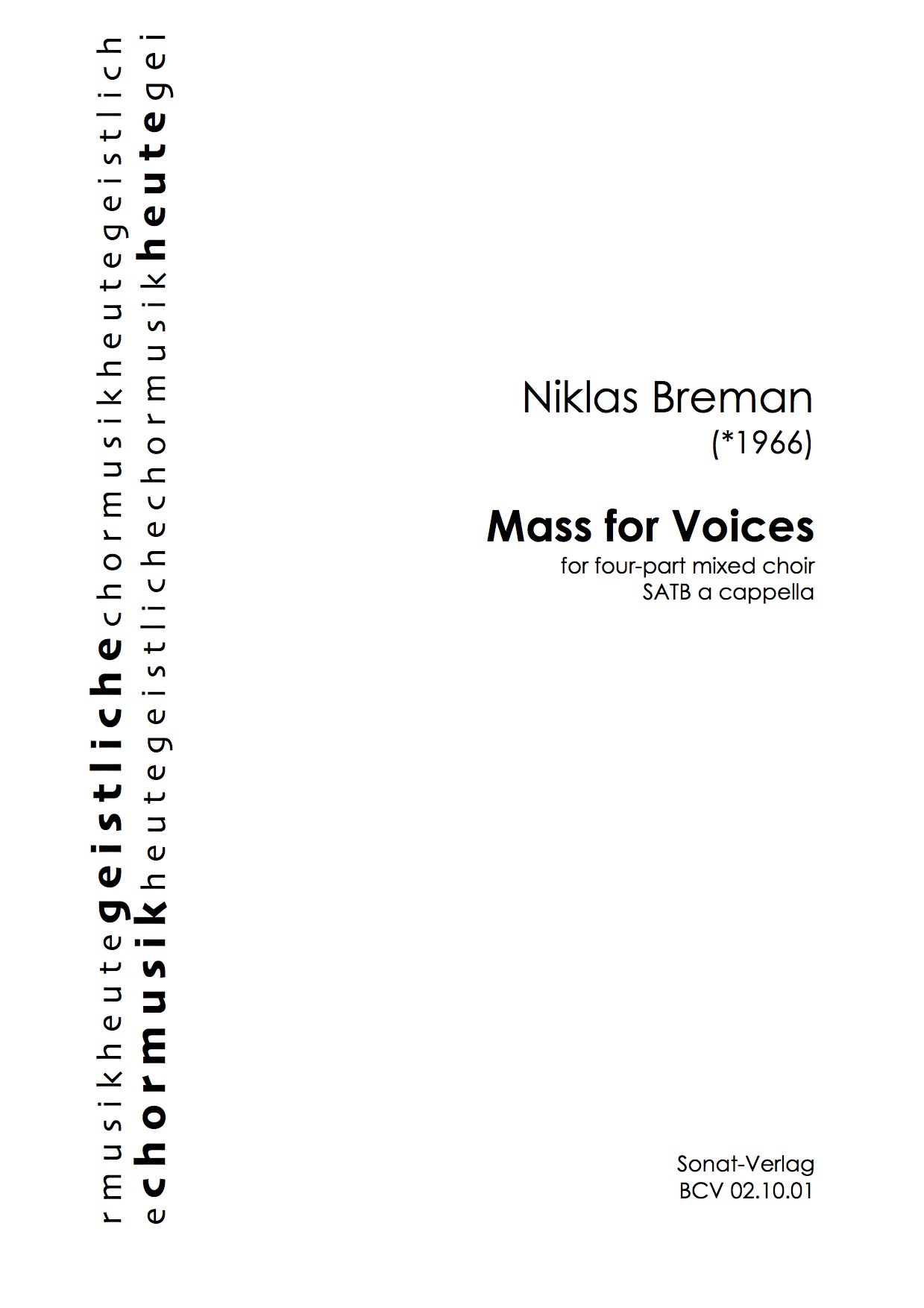 Mass for Voices