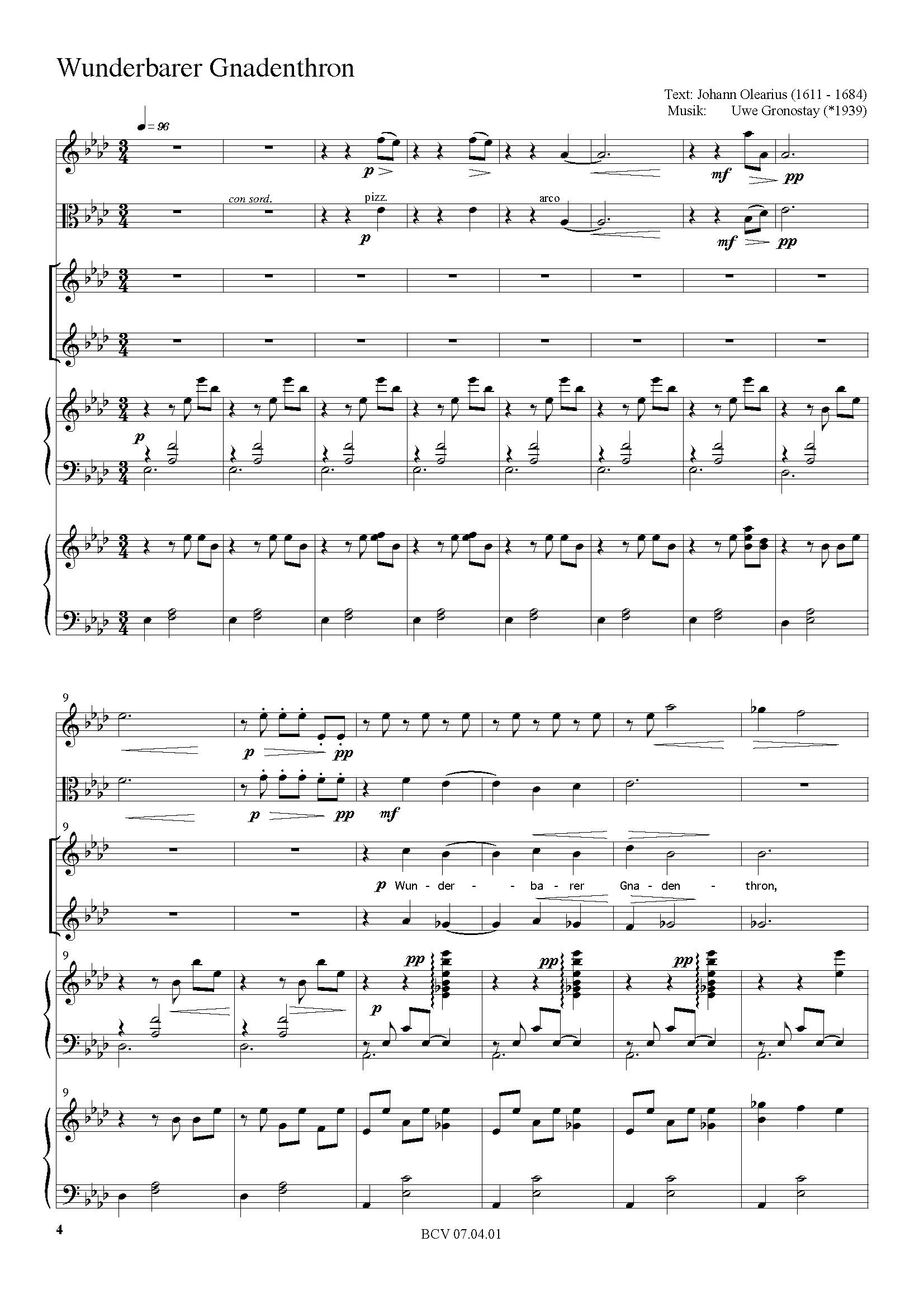 Weihnachtslieder Partitur.Vier Weihnachtslieder Partitur Edition Sonat Verlag