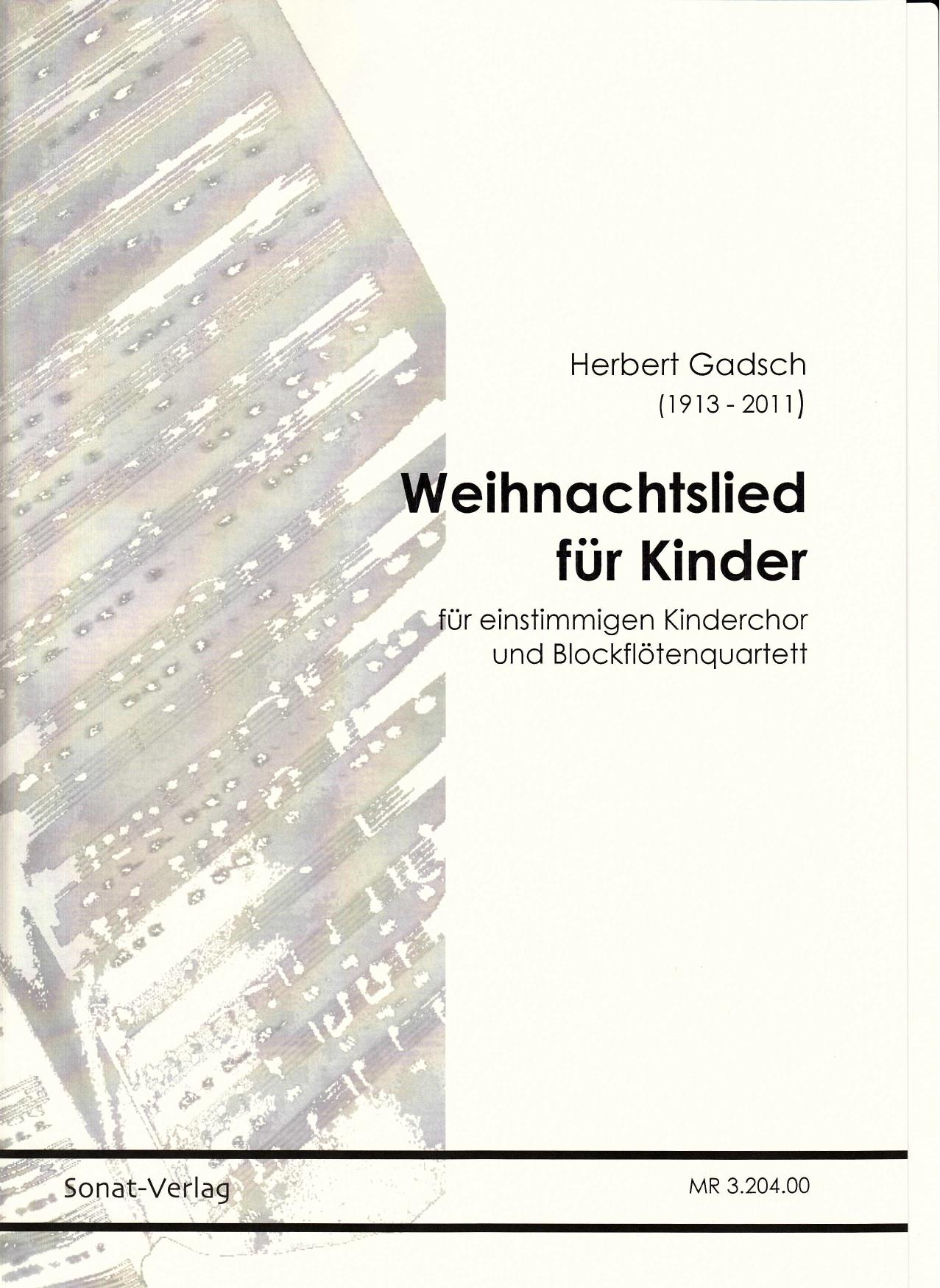 Weihnachtslied für Kinder - Edition Sonat-Verlag