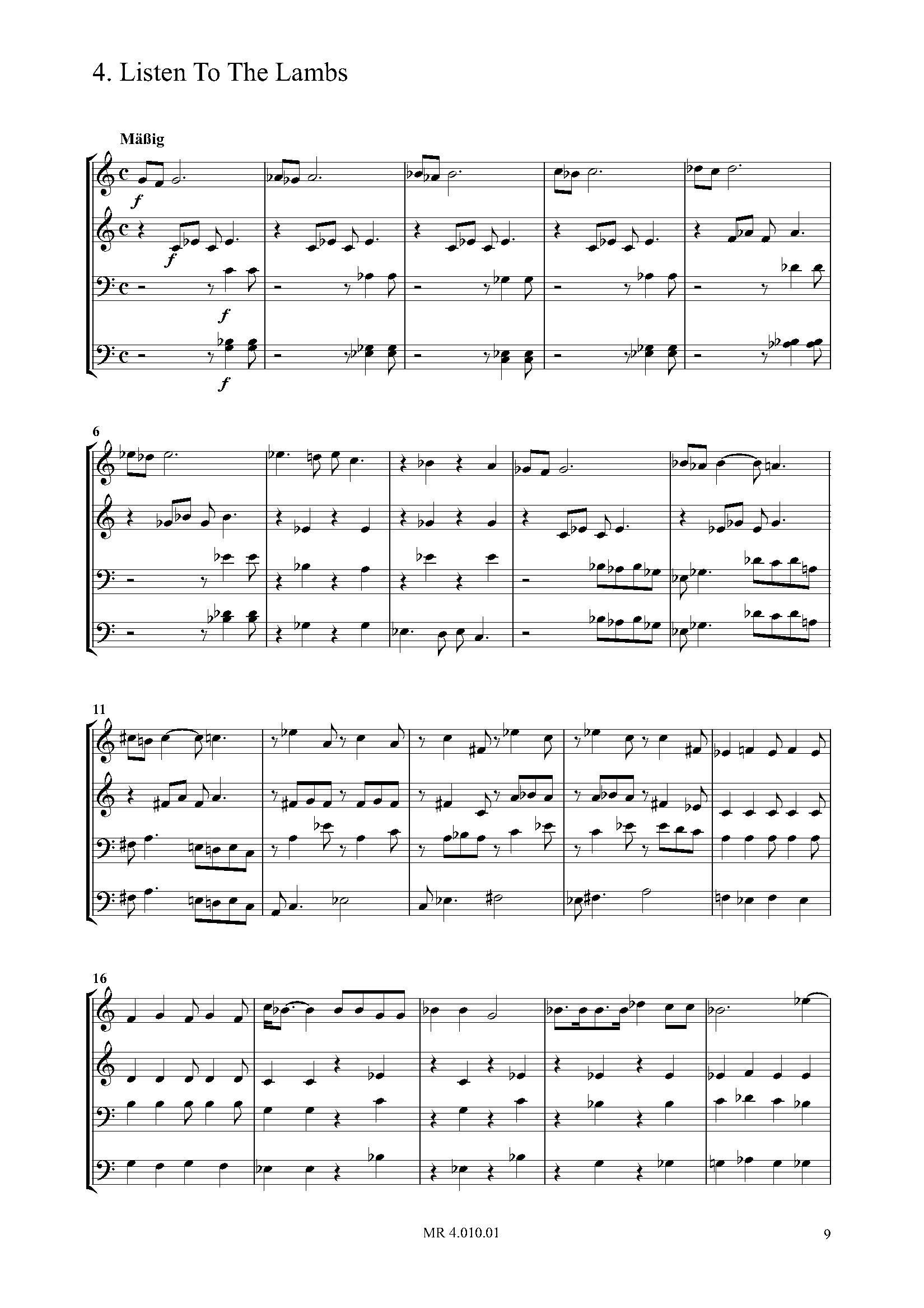 Spirituals for Brass (PART)