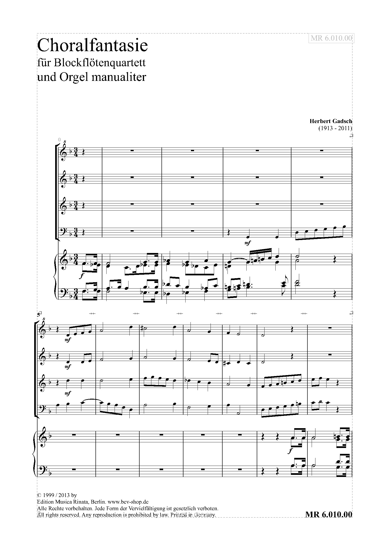 Choralfantasie (PART)